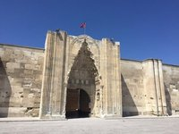 Magnificent Eastern Entry Gate of Sultanhani Caravanserai