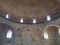 Interior of the Mosque within Rabati Fortress. Amazing Brickwork for 1752.