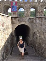 One of the Tunnels Leading From Citadel Down to River