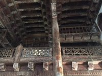 Wooden Interior of the Mahmat Bay Mosque 1366