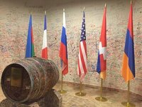 Peace Barrel at Ararat Brandy Factory