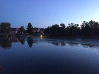 River Lech at Dusk