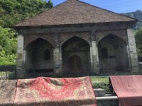 17C Mosque in Ilisu - Carpets No Doubt Newer!