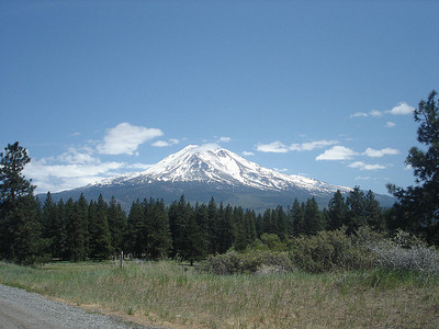Mt. Shasta in all its glory!