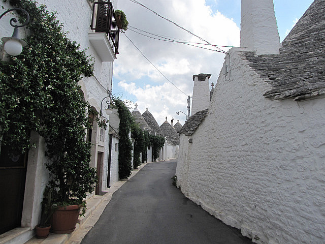 The quaint Trulli houses of Alberobello