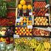 Beautiful fresh fruit for sale in Lipari