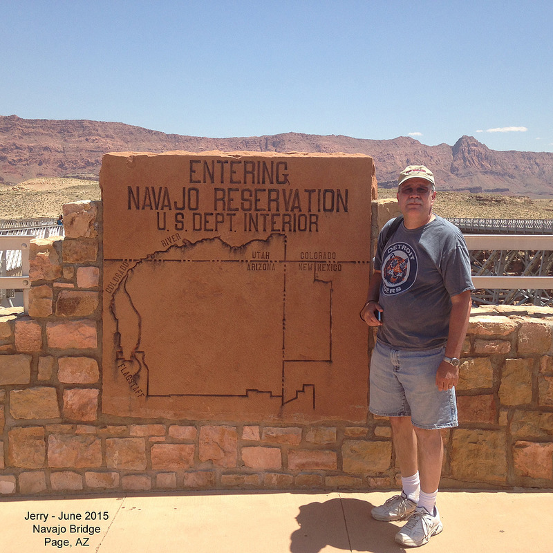Jerry at Navajo Bridge