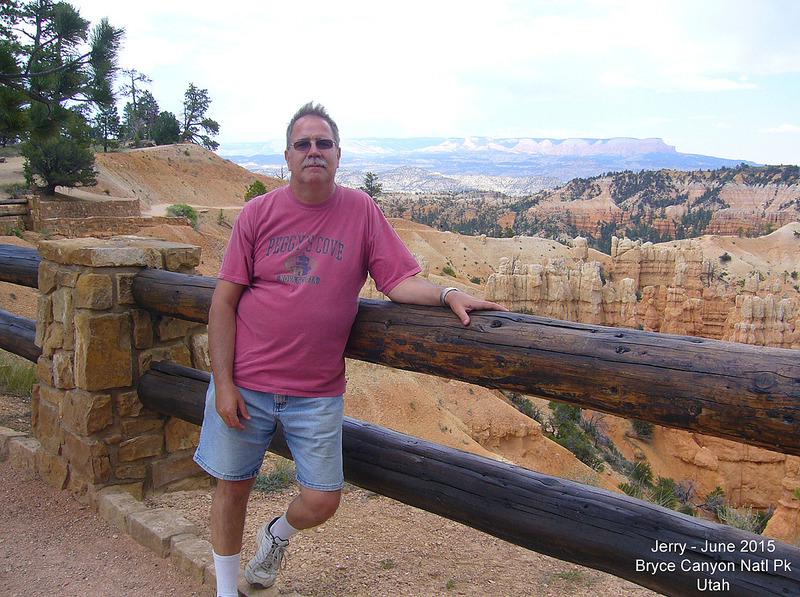 Jerry at Fairyland Canyon - Bryce Canyon Natl Pk