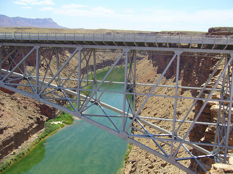 view from Navajo Bridge
