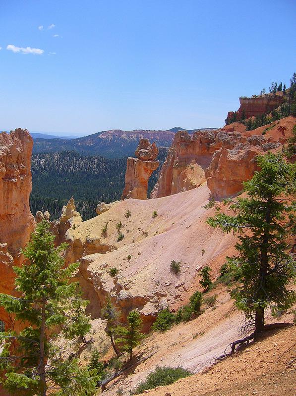 Natural Bridge Overlook - Bryce Canyon Natl Pk