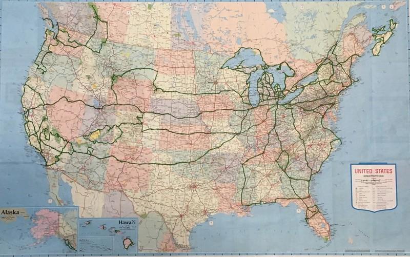 Map July 2018