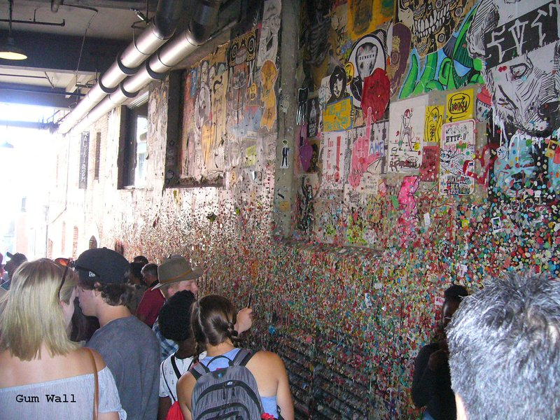 Seattle -Gum Wall