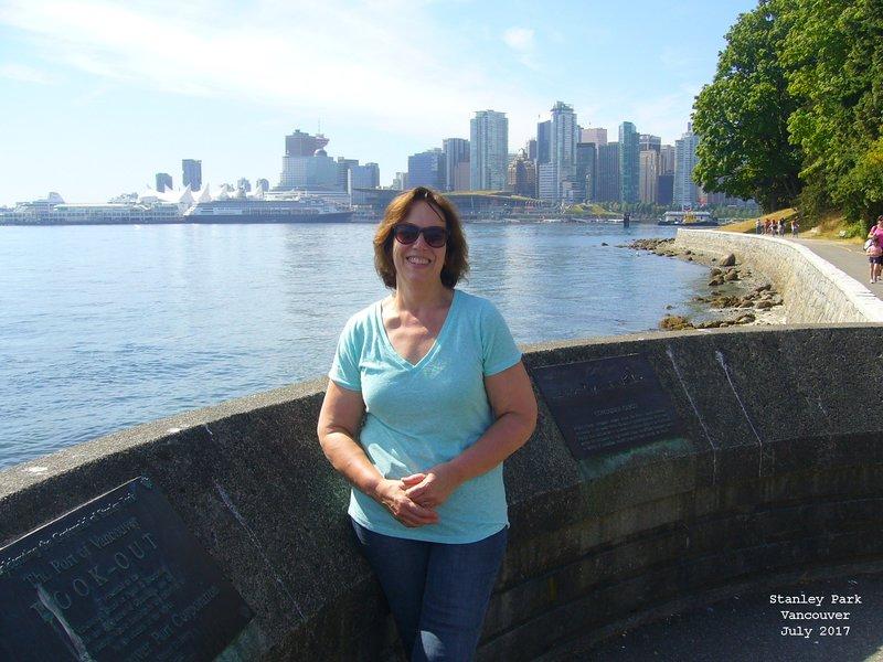Sue in Stanley Park Vancouver