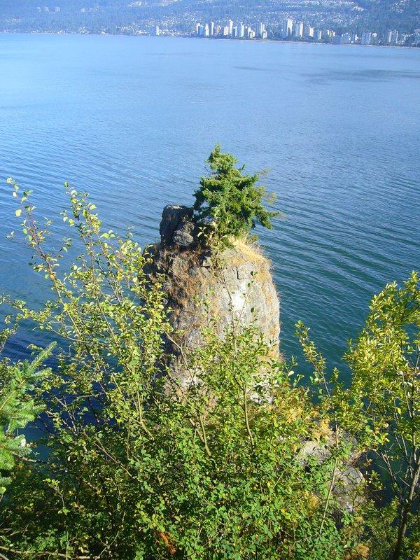 Siwash Rock - Stanley Park Vancouver