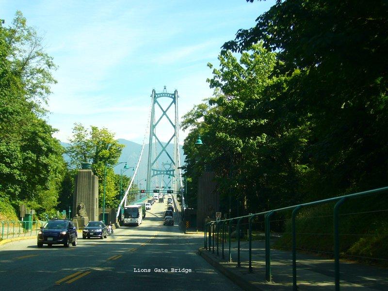 Lions Gate Bridge - Stanley Park Vancouver