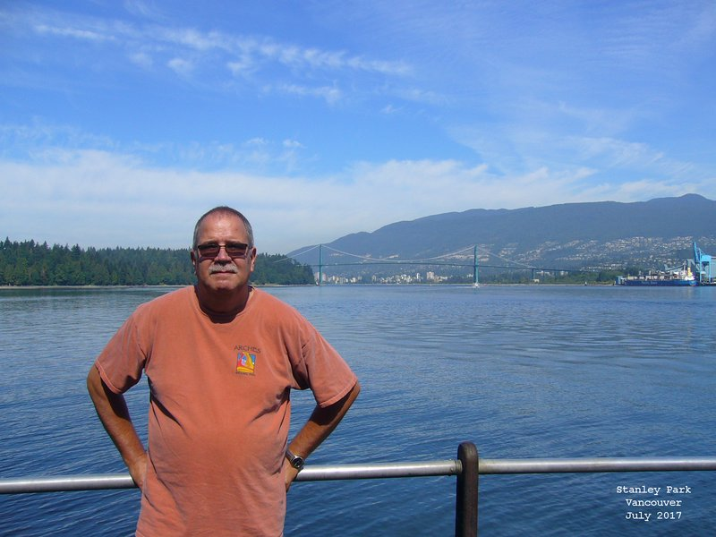 Jerry in Stanley Park Vancouver