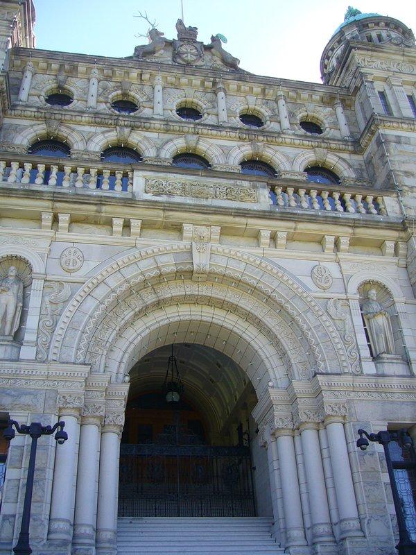 British Columbia Parliament Buildings - Victoria