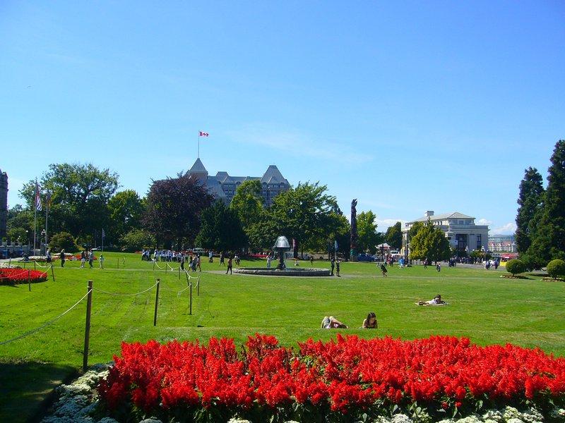 Parliament Buildings grounds