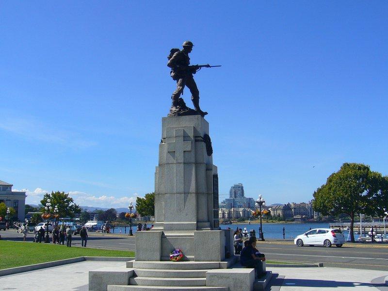 Memorial at Parliament Buildings