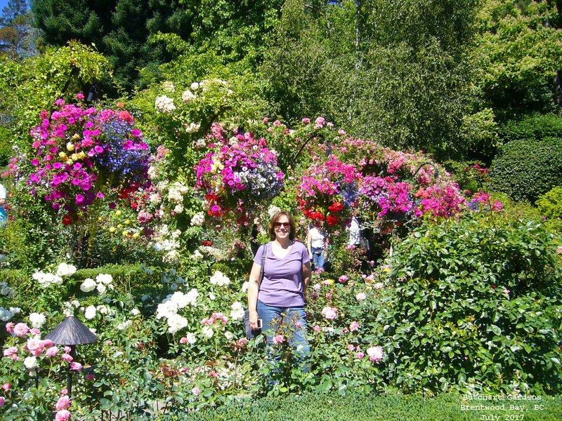 Sue in Rose Garden