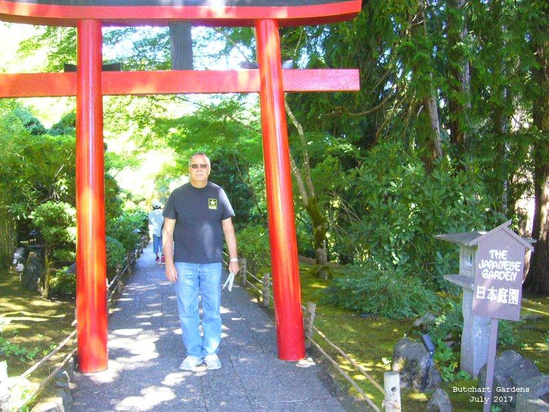 Jerry in Japanese Garden