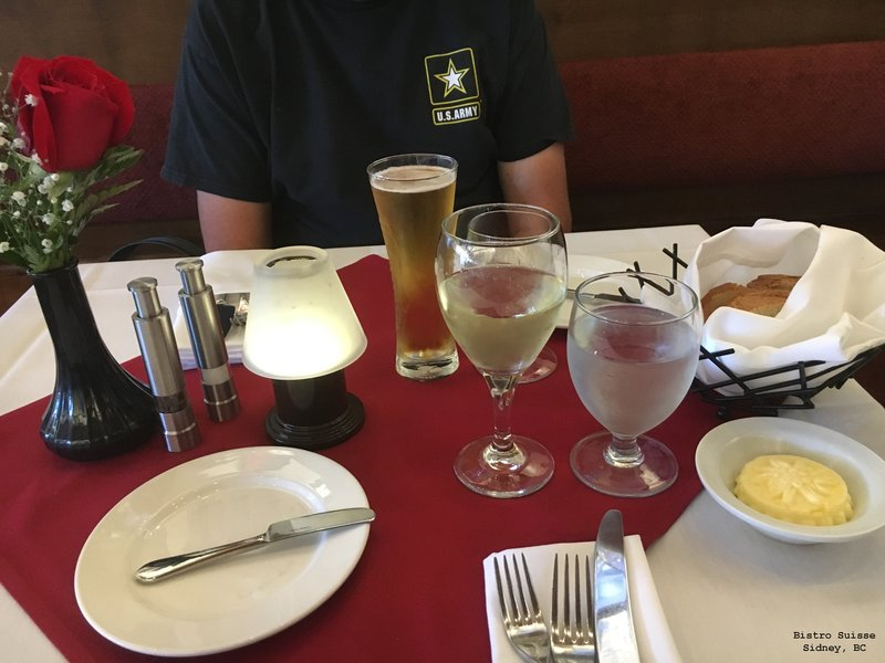 Bistro Suisse -our best meal while on vacation