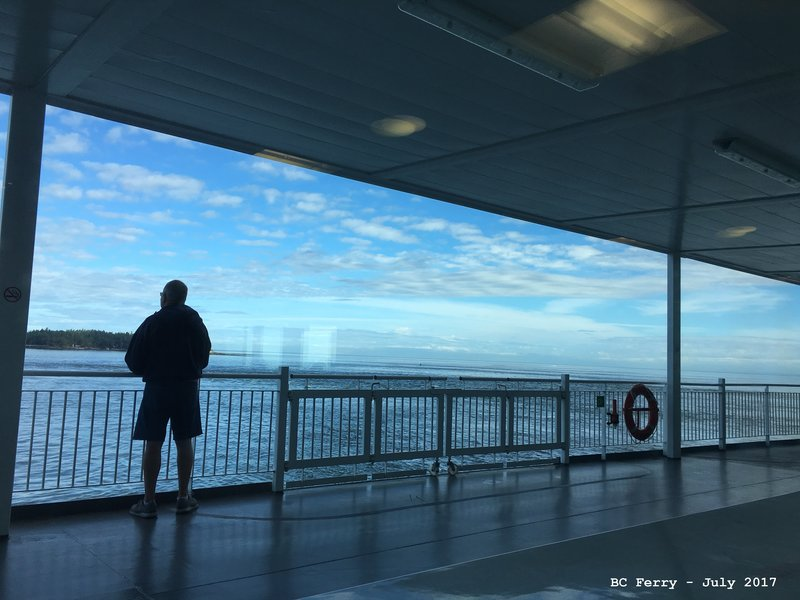 Jerry on BC Ferry