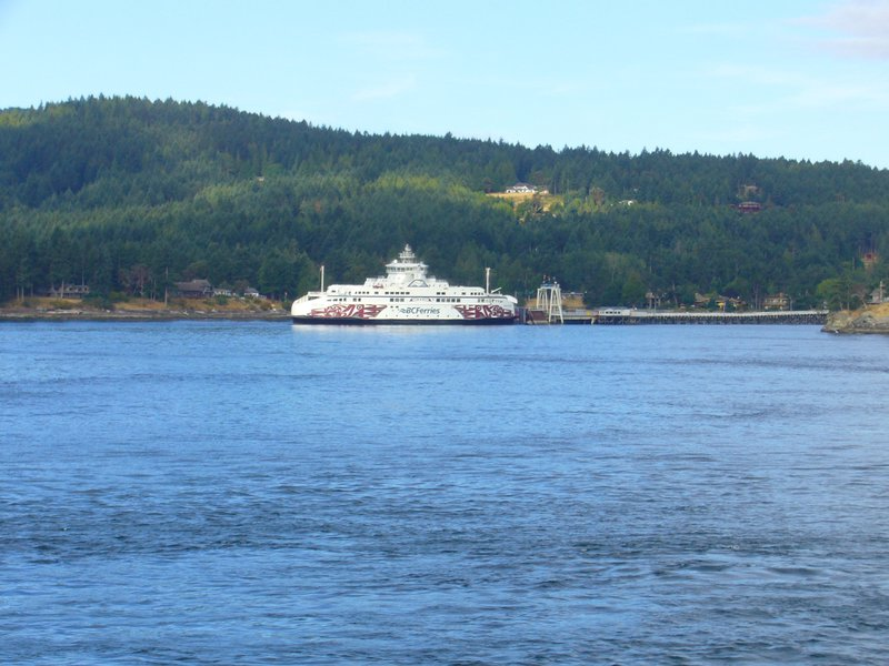 BC Ferry stop in Gulf  Islands