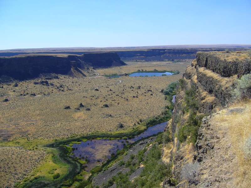 Dry Falls Viewpoint