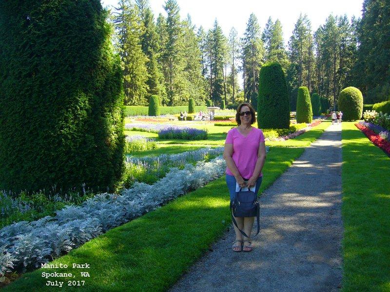 Sue in Manito Park - Spokane