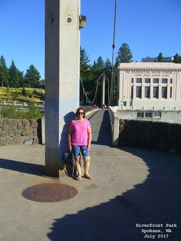 Sue in Riverfront Park - Spokane