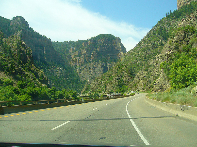 Driving to Black Canyon
