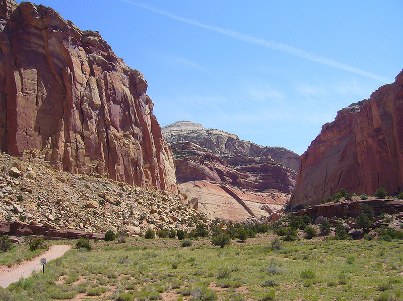 Capitol Gorge in Capitol Reef National Park