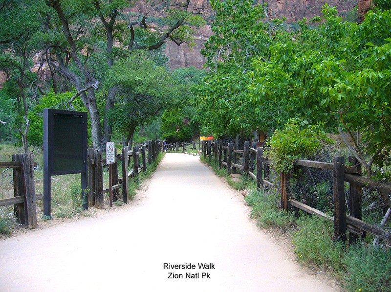 River Walk in Zion National Park
