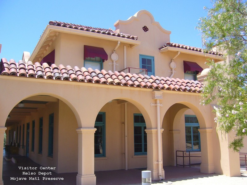 Kelso Depot at Mojave National Preserve