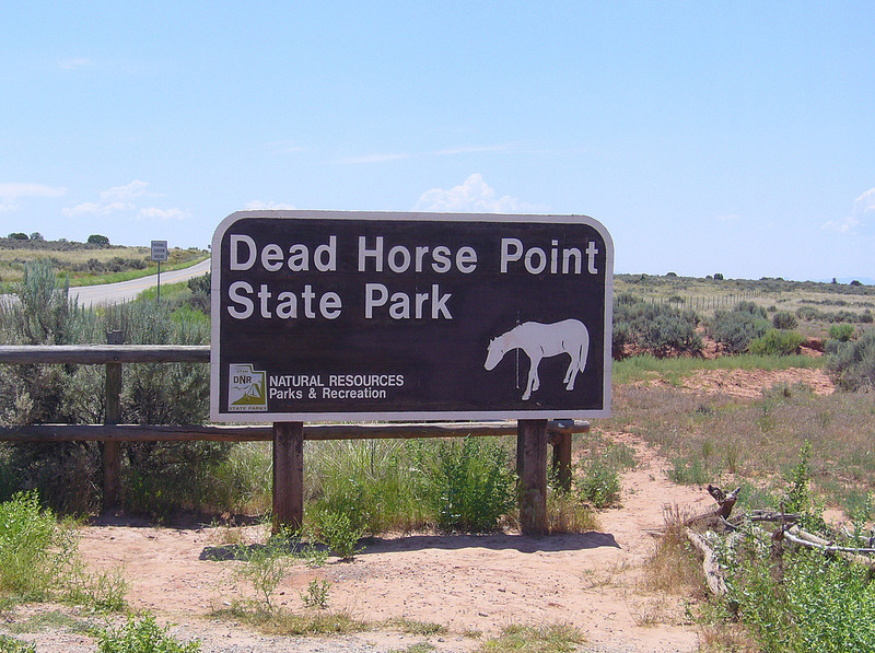 Welcome to Dead Horse Point State Park