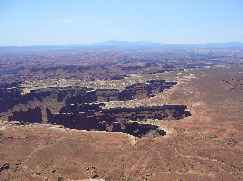 Grand View Point - Canyonlands National Park