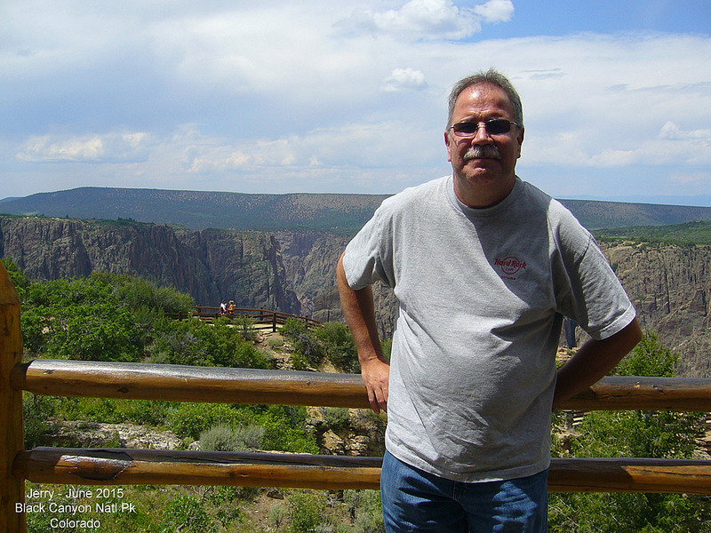 Jerry in Black Canyon of the Gunnison National Pk