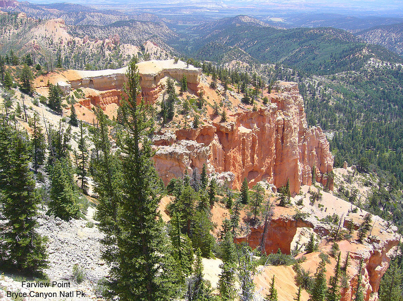 Farview Point Overlook-Bryce Canyon National Park