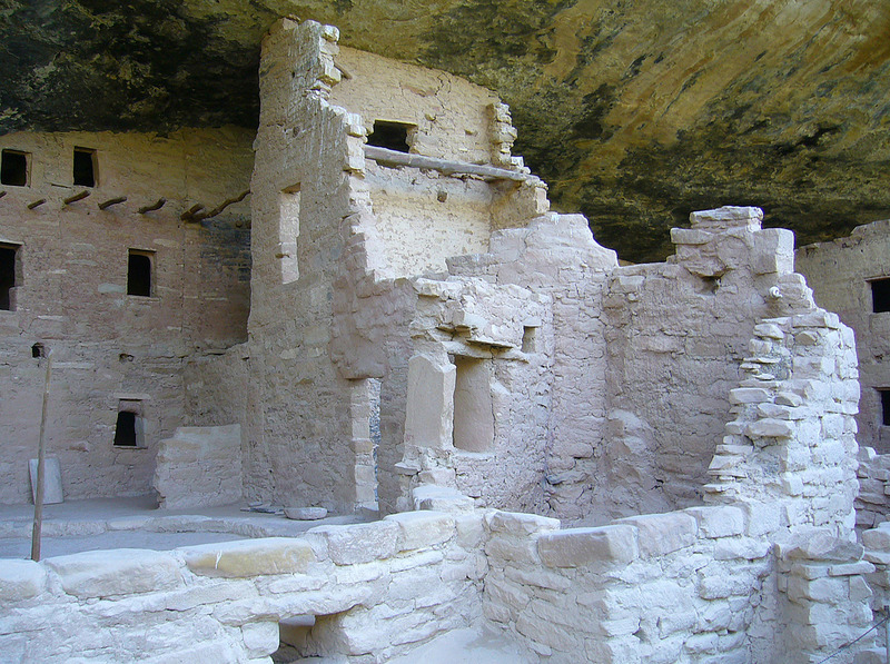 Spruce Tree House at Mesa Verde Natl Park