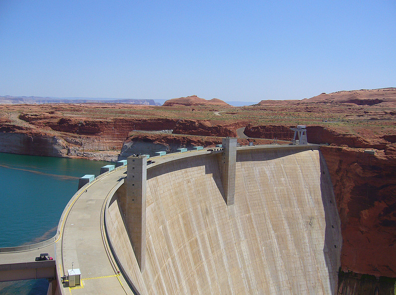 Glen Canyon Dam Recreation Area-Hayden Visitor Ctr