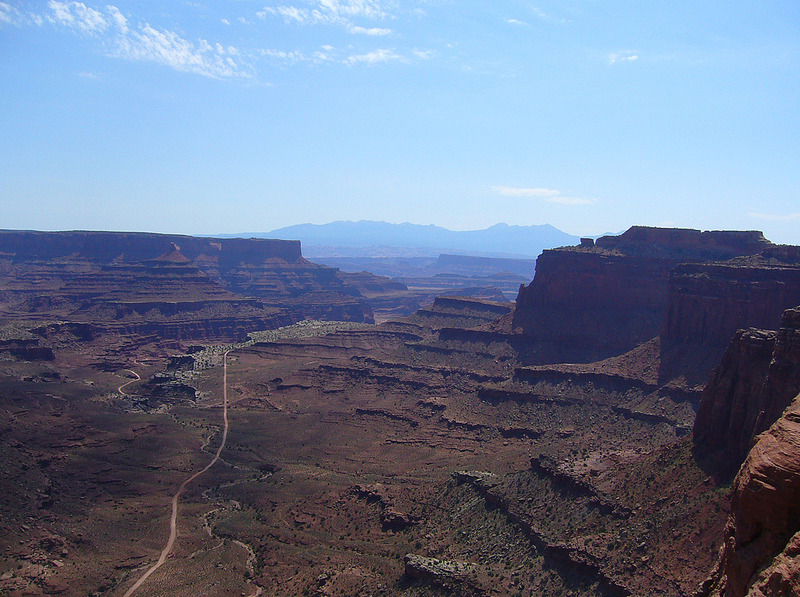 Shafer Canyon Overlook - Canyonlands Natl Pk