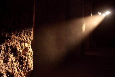 Inside the Cisterns of Rasafa