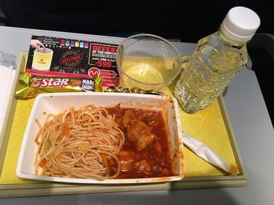 Jet Airways dinner
