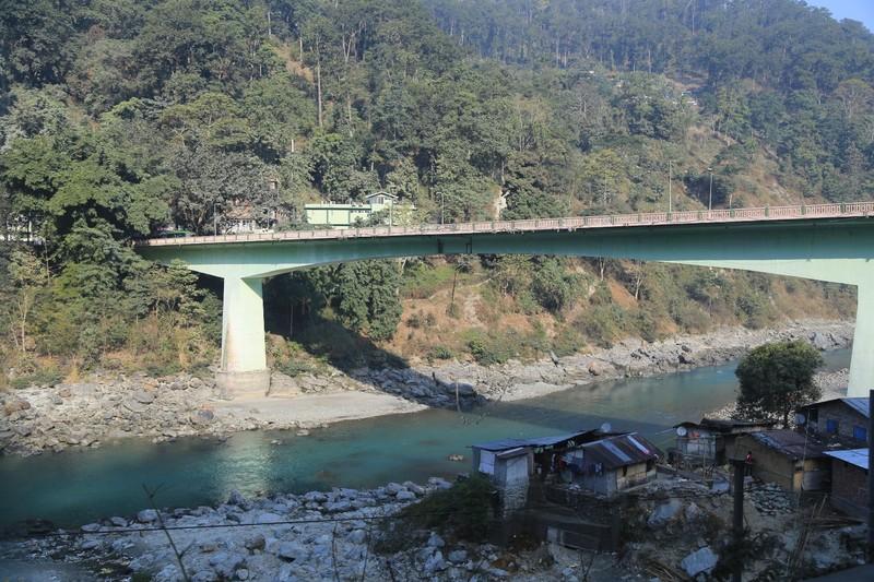 Bridge over to Meli town