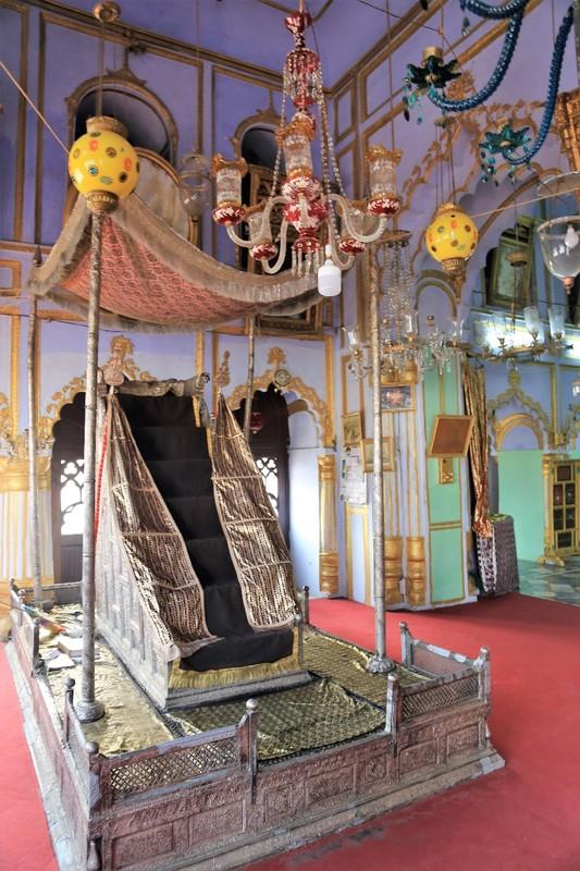 The Throne of Muhammad Ali Shah