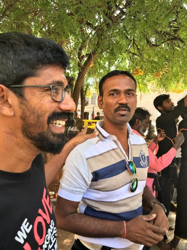 Prem and local guide Nagendra