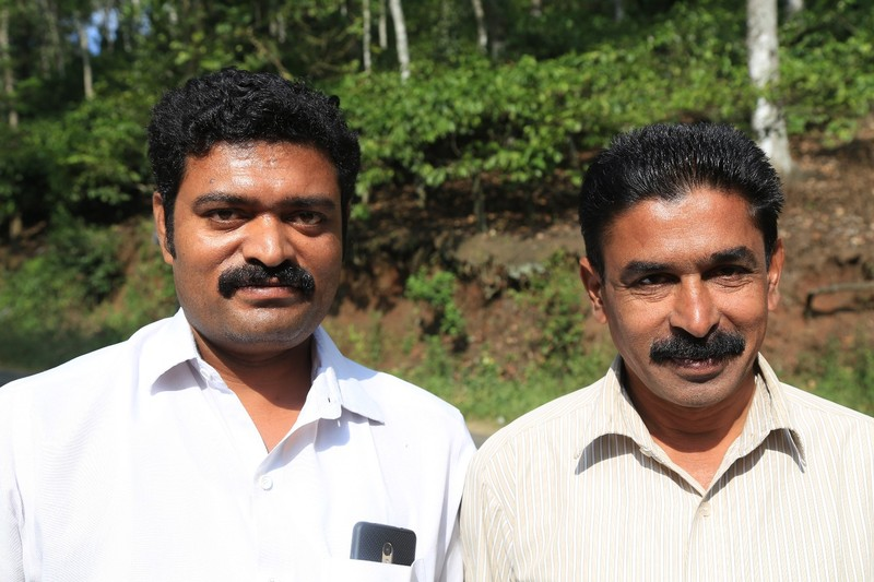 Rajesh - our driver and Augustan his trusty side kick