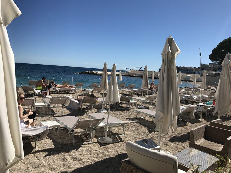 Russell Berney: Larvotto Beach, Monaco