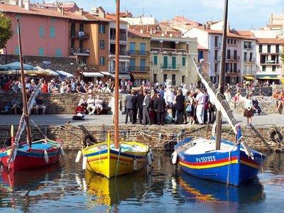 Barques pêcheurs catalan